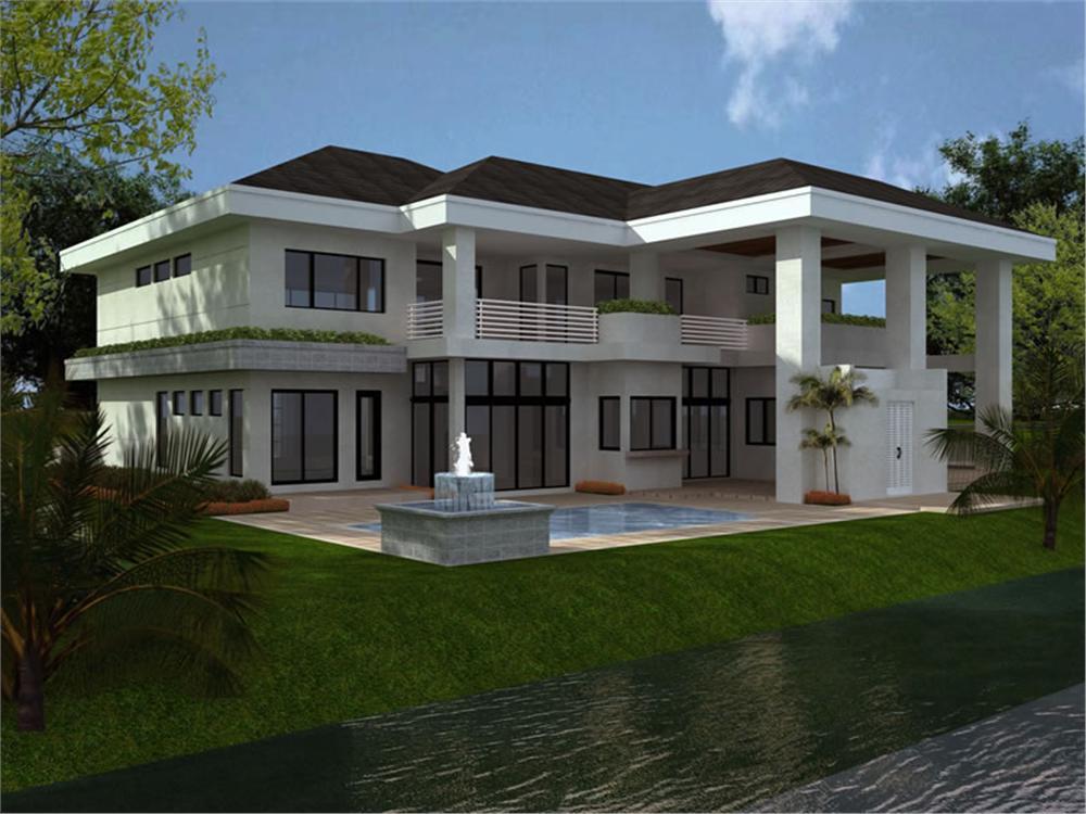Bulfor construcciones barranquilla colombia plano for Viviendas de campo modernas