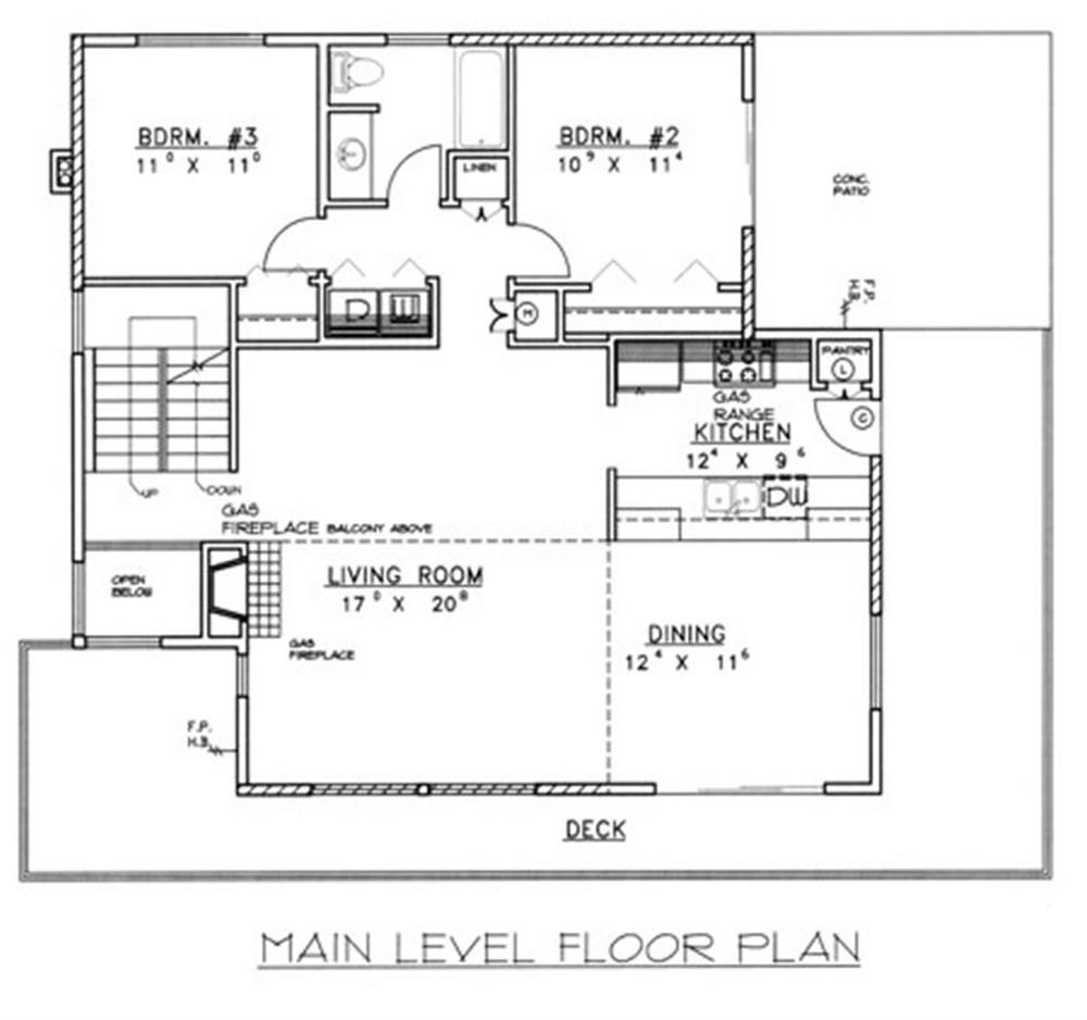 plano nivel superior casa moderna 2 plano subsuelo casa moderna 2