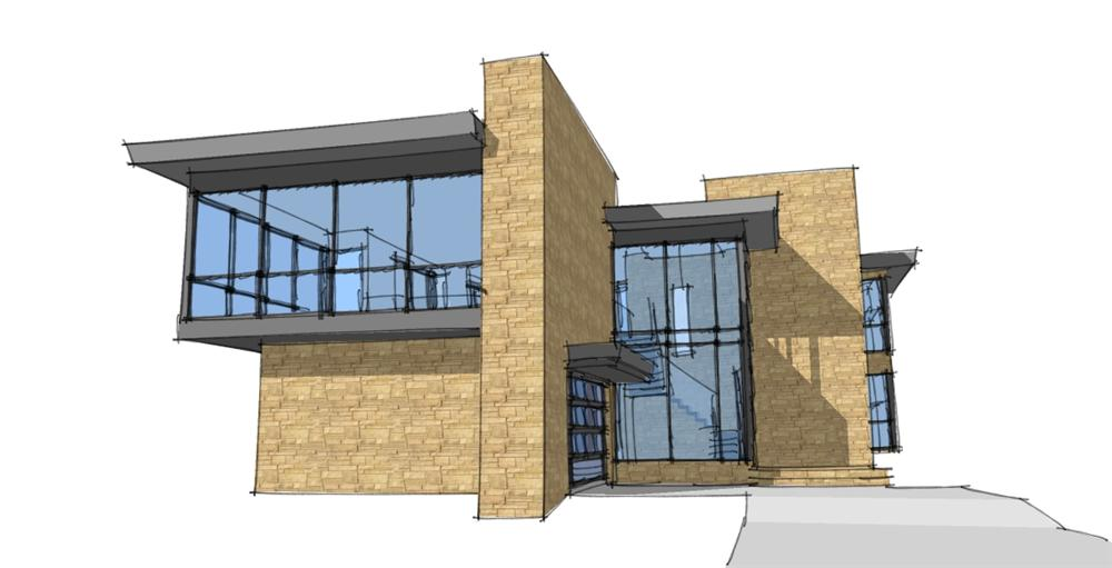 Planos de viviendas planos de casas modernas for New style house design