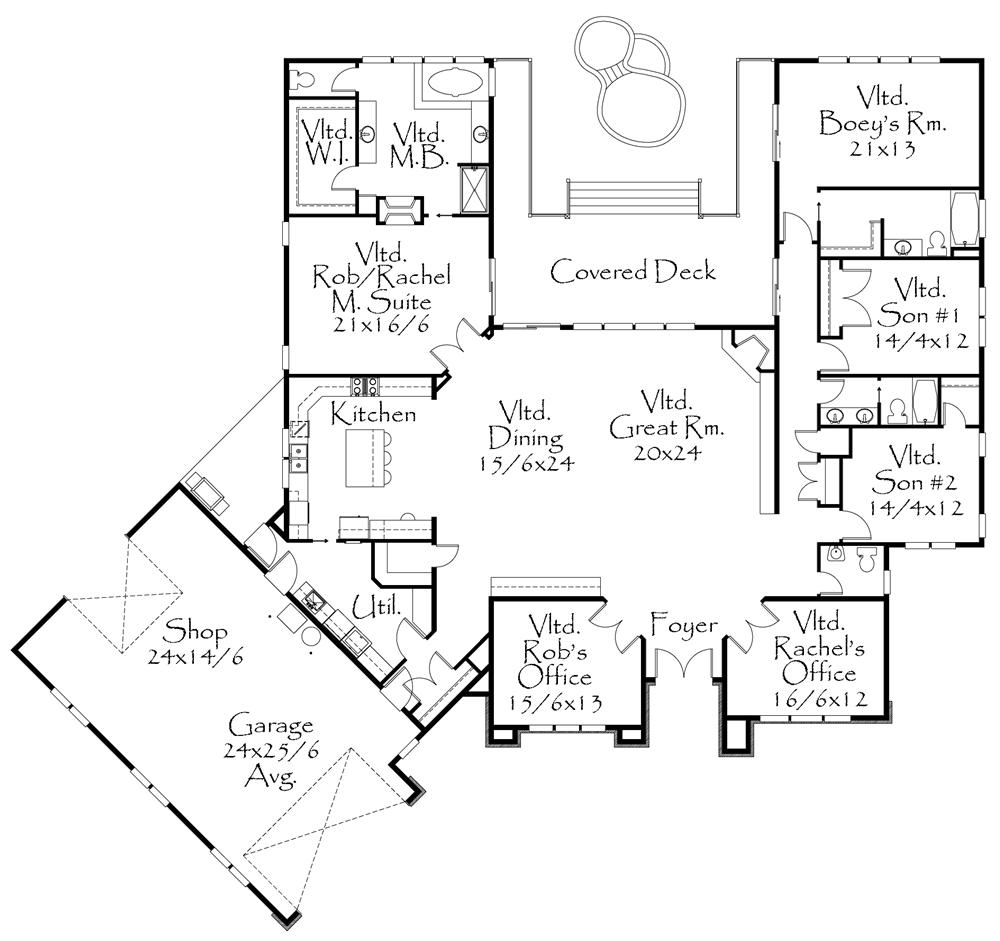 Free coloring pages of fachadas de casa for Planos para casas modernas