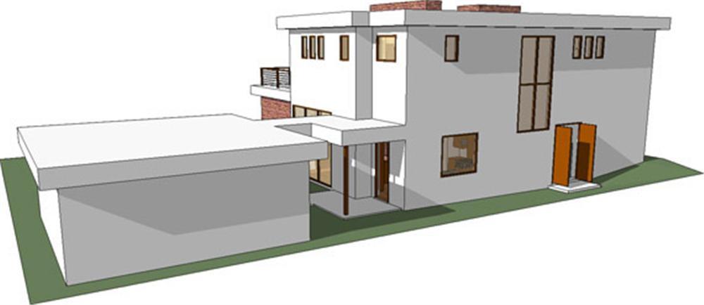 Planos de viviendas planos de casas modernas for Casa moderna autocad