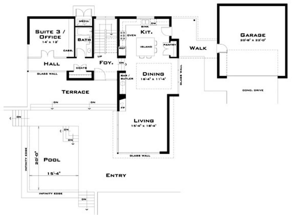 Planos de viviendas planos de casas modernas Planos interiores de casas modernas