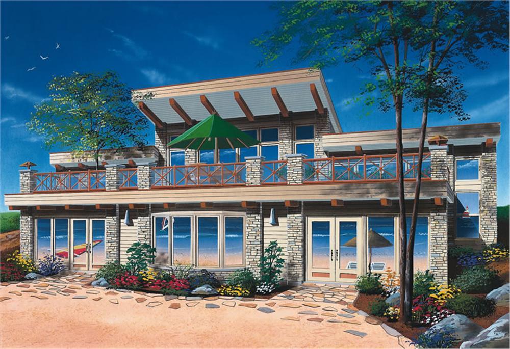 Planos de viviendas planos de casas modernas for Planos de casas de campo modernas