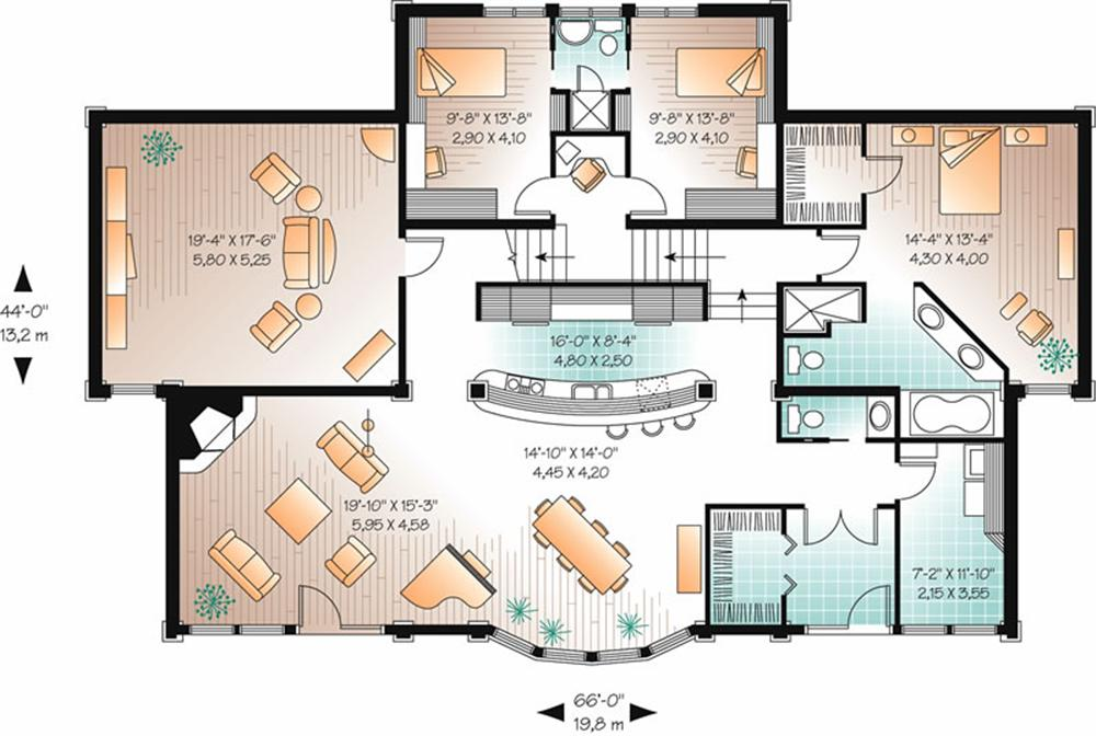 Planos de viviendas planos de casas modernas - Plano de casa ...