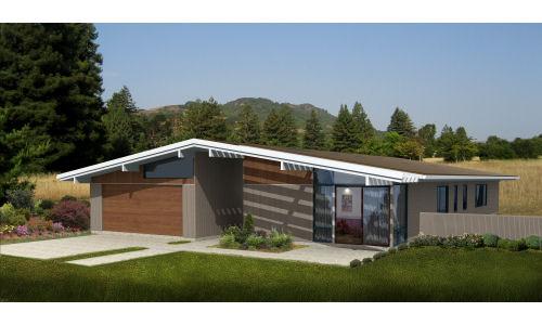 Plano casa moderna 240m2