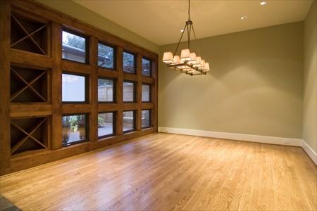 casa moderna piso de madera