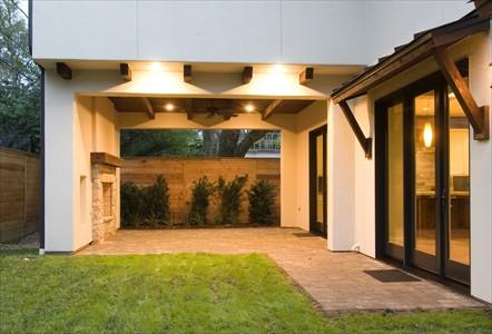 vista casa moderna