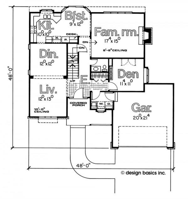plano principal de casas unifamiliares