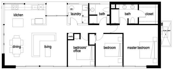 planos de casas moviles