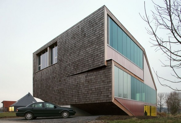 Casa de dos plantas en Bélgica