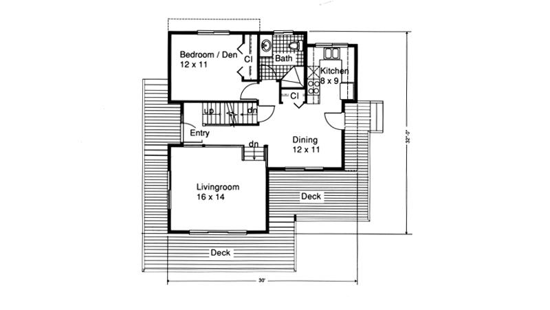 Dos casas con fotos de sus planos