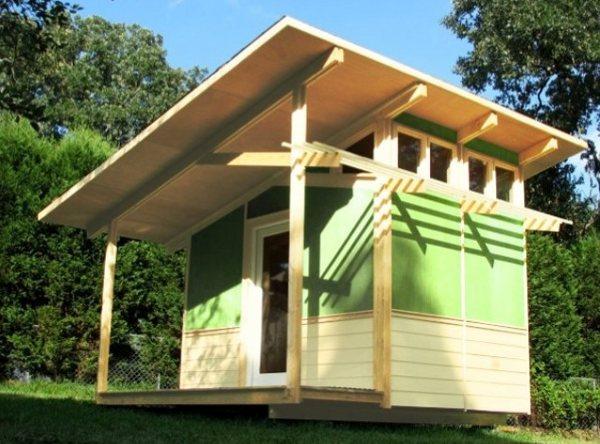 Planos de una caseta prefabricada en USA