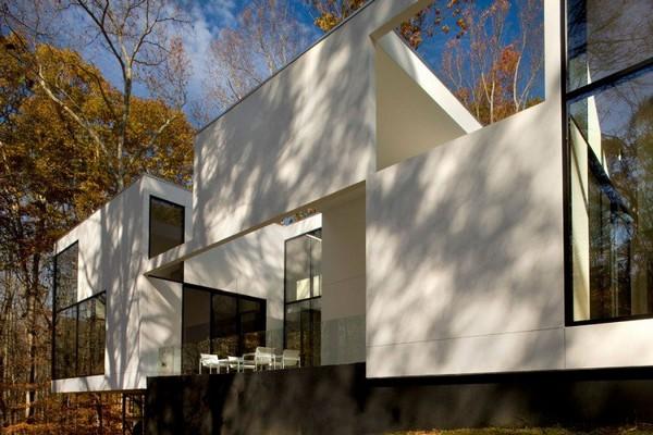 Casa impresionante con detalles amaderados