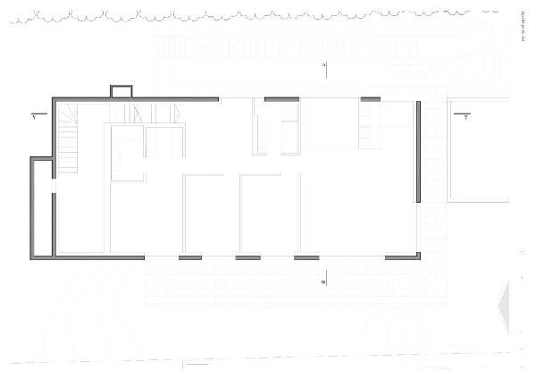 Planos de residencia moderna ideal para oficina