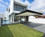 Representativa residencia de arquitectura pura