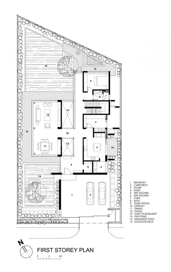 Foto de Plano de casa modular en Singapur