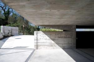 entrada casa minimalista