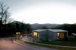 fachada casa minimalista