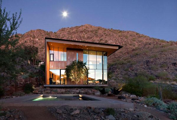 Planos de Residencia Moderna  en Jarson en Arizona