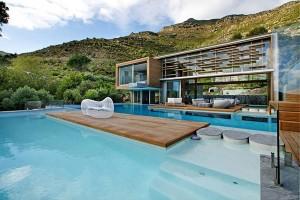 Casa Spa en sudafrica piscina
