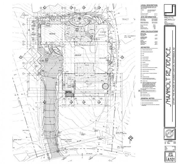 Planos de vivienda desertica en arizona