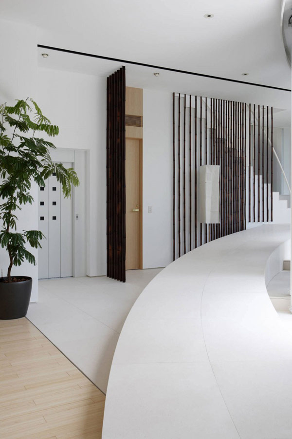 Imagen de lujo y encanto en planos de casa japonesa