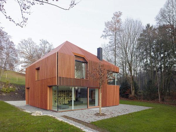 Planos de casa pequeña en Alemania