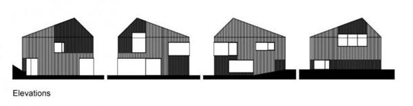 Foto de planos de casa pequeña en Alemania