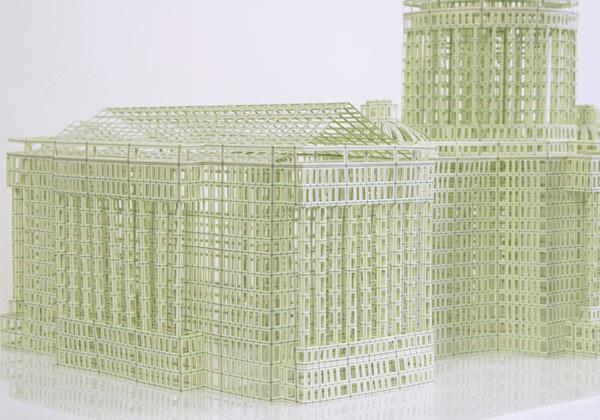 Imagen de maquetas arquitectónicas