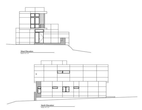 Imagen de planos de casa para cuatro personas