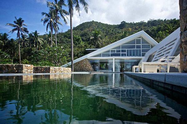Imagen de arquitectura en Tailandia - Casa espaciosa