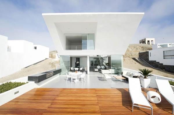 Imagen de Plano de casa con entrada principal en la terraza Lima Perú (10)