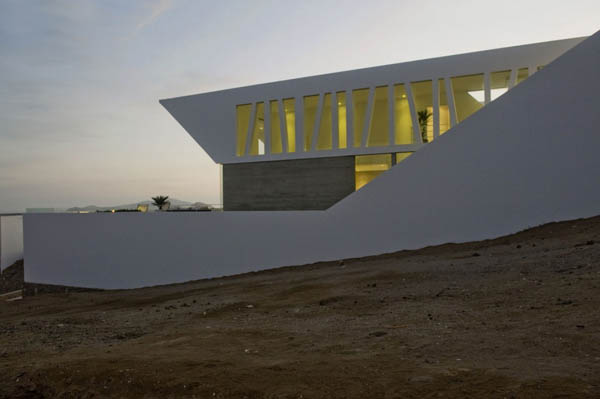 Imagen de Plano de casa con entrada principal en la terraza Lima Perú (4)