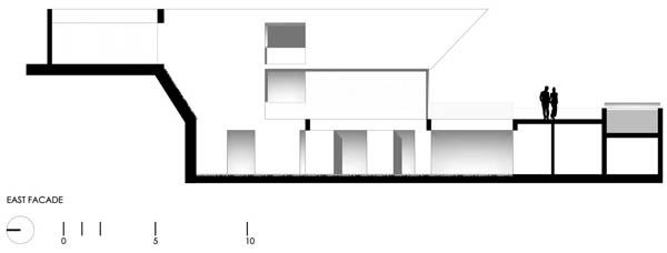 Imagen de Plano de casa con entrada principal en la terraza Lima Perú (3)