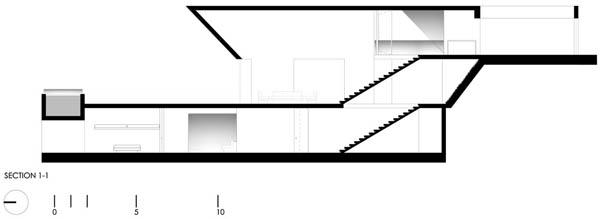 Imagen de Plano de casa con entrada principal en la terraza Lima Perú (2)