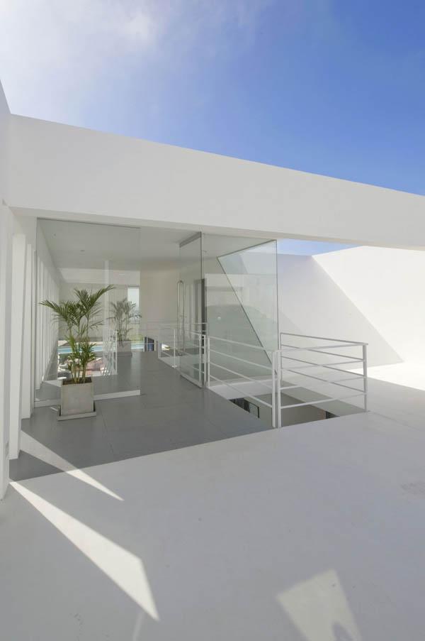 Imagen de Plano de casa con entrada principal en la terraza Lima Perú (20)