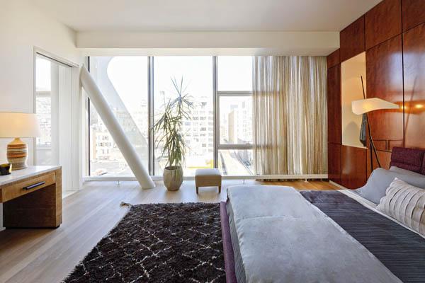 Imagen de Condominio en Nueva york con apariencia metálica (1)