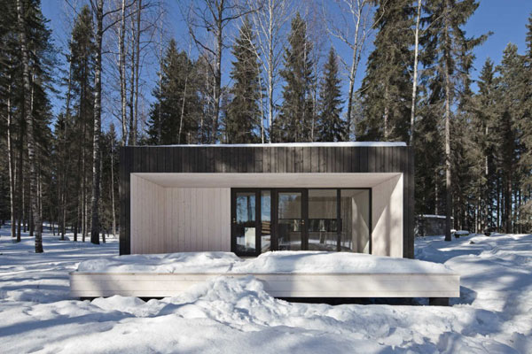 Planos de casa minimalista en Finlandia (25)