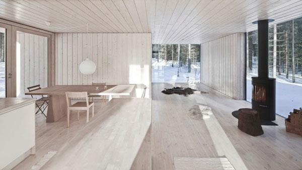 Planos de casa minimalista en Finlandia (16)