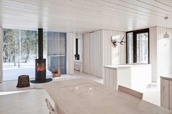 Planos de casa minimalista en Finlandia (15)