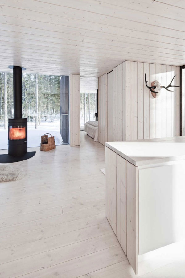 Planos de casa minimalista en Finlandia (14)