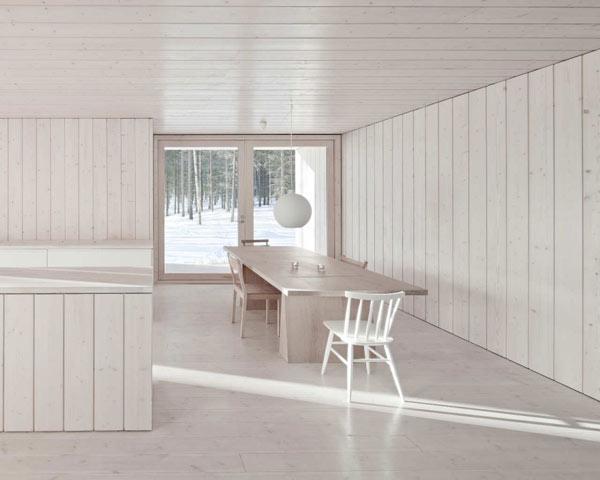 Planos de casa minimalista en Finlandia (7)