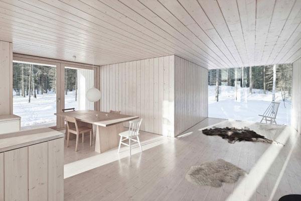 Planos de casa minimalista en Finlandia (5)