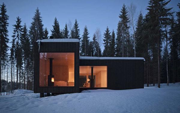 Planos de casa minimalista en Finlandia (3)