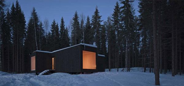 Planos de casa minimalista en Finlandia (2)