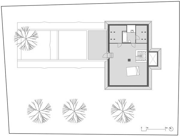 Anexamiento de estructura moderna a casa común planos incluidos (5)
