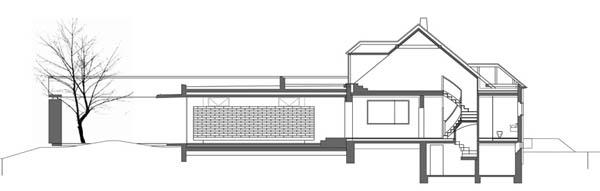 Anexamiento de estructura moderna a casa común planos incluidos (4)