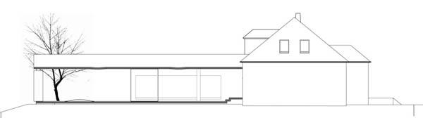 Anexamiento de estructura moderna a casa común planos incluidos (2)