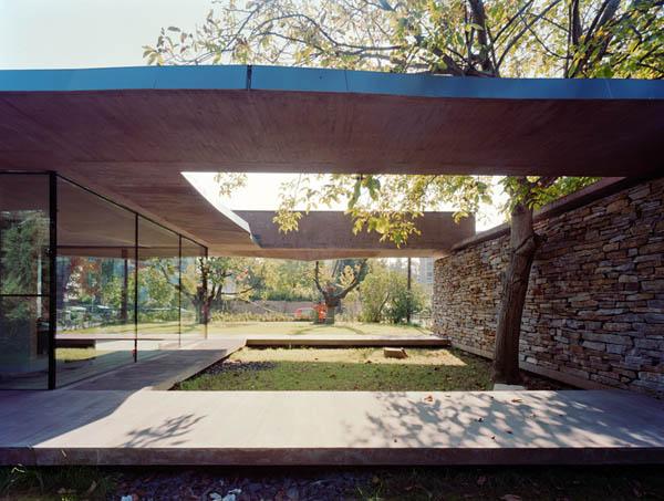 Anexamiento de estructura moderna a casa común planos incluidos (11)