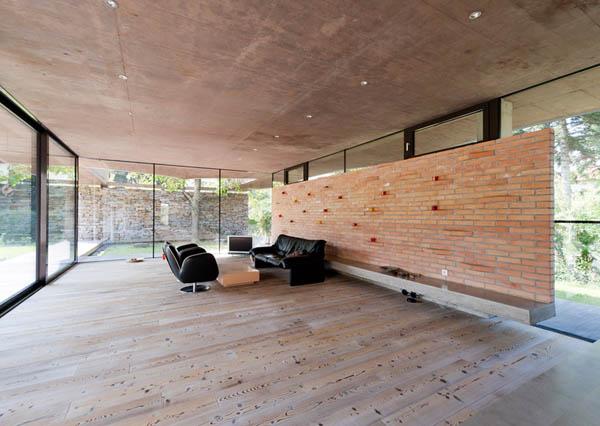 Anexamiento de estructura moderna a casa común planos incluidos (9)